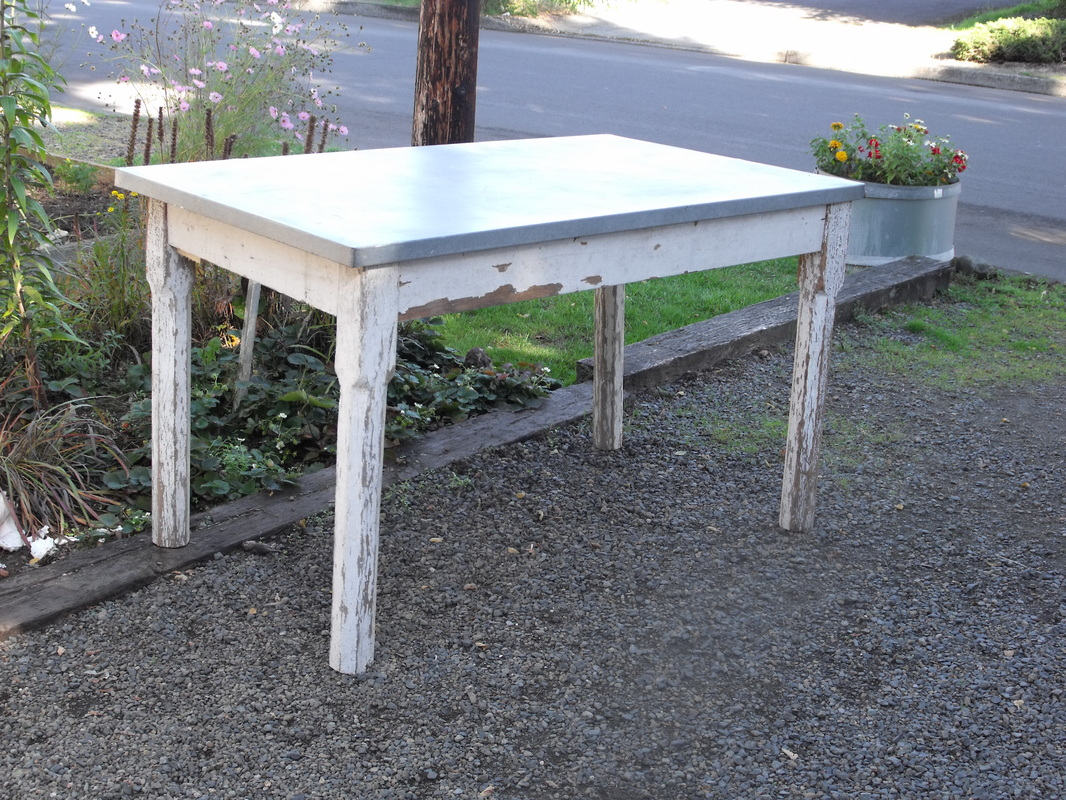 Galvanized Table Tops. We ...